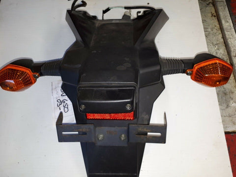 2003 SUZUKI SV650 REAR FENDER WITH TURN SIGNALS LICENSE PLATE BRACKET