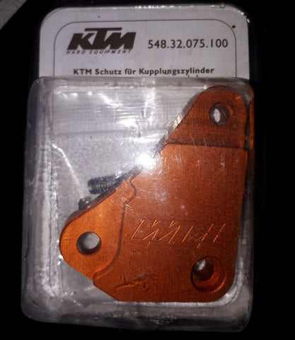KTM CLUTCH CYLINDER BILLET CASE GUARD  WITH HARDWARE