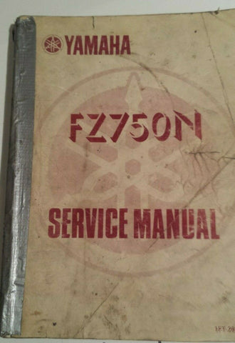 YAMAHA FZ750N SERVICE MANUAL