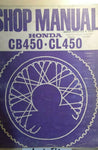 HONDA CB450 CL450 SHOP MANUAL