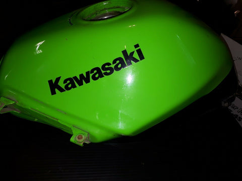 2012 NINJA 250 LTD GAS TANK GREEN