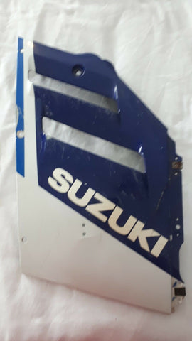 1988-1989 GSX-R 750 MID FAIRING, SIDE PANEL,