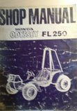 HONDA ODYSSEY FL250 SHOP MANUAL