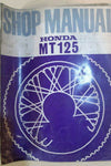 HONDA MT125 SHOP MANUAL