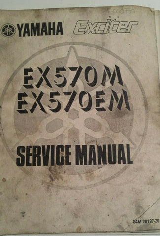 YAMAHA EXCITER EX570M SERVICE MANUAL