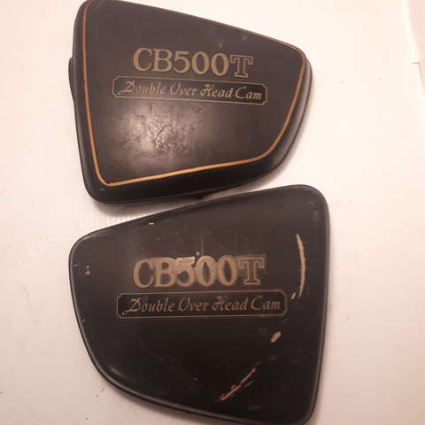 Honda CB500T Side Covers