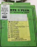 IT YZ XT Rear Brake Shoes