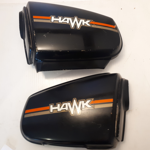 Honda CB400 Hawk Side Covers