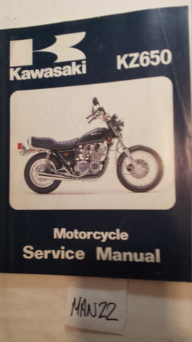 KAWASAKI KZ650 SERVICE MANUAL