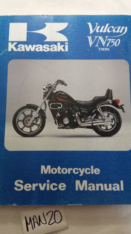 VULCAN VN750 TWIN SERVICE MANUAL