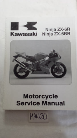 2003 ZX6-R SERVICE MANUAL