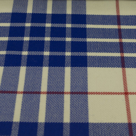 Tartan Fabric - Buchanan - Dress - Blue