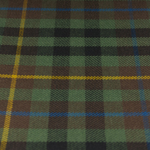 Tartan Fabric - Buchanan - Hunting - Muted