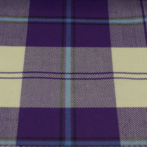 Tartan Fabric - Cunningham - Dress - Purple