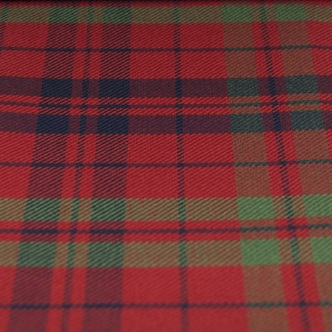 Tartan Fabric - Fraser of Lovat - Muted