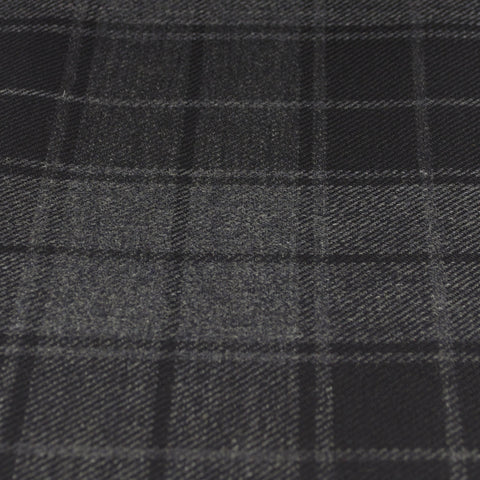 Tartan Fabric - Grey Highlander