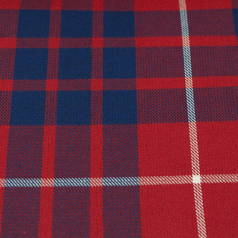Tartan Fabric - Hamilton - Red