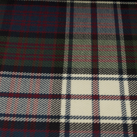 Tartan Fabric - MacDonald of Clanranald - Muted - Dress
