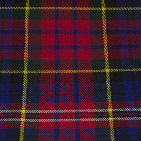 Tartan Fabric - MacPherson - Modern - Red (Whilst stocks last)