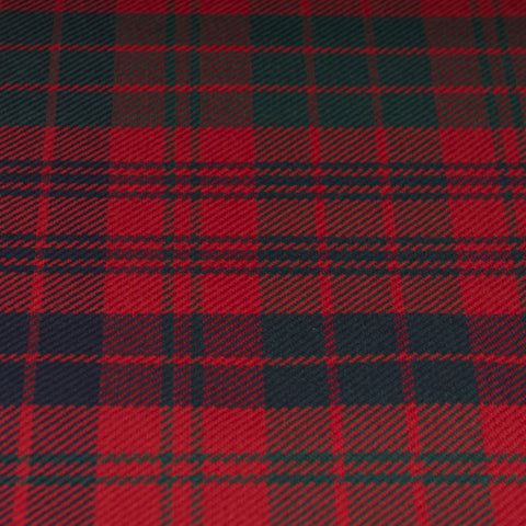 Tartan Fabric - Ross - Modern - Red