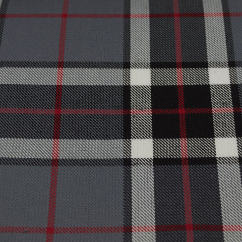 Tartan Fabric - Thomson - Modern - Grey - Small