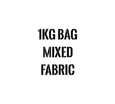 1KG BAG MIXED FABRIC
