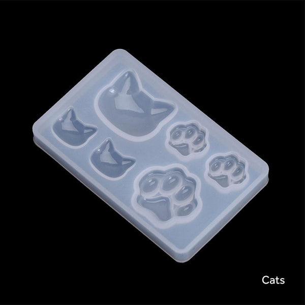 Assorted Mini Silicone Moulds