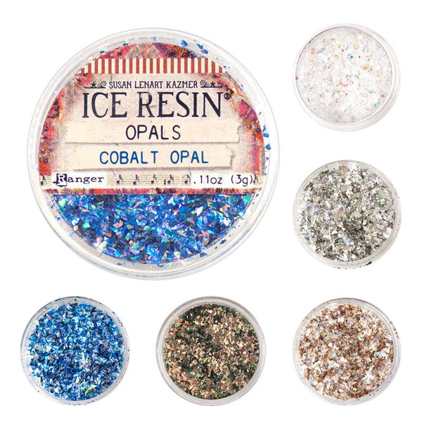 Ice Resin Iridescent Flakes - Classic Opals (3g)