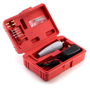 Jewellery Hand Drill Tool Kit - UK Adapter Included