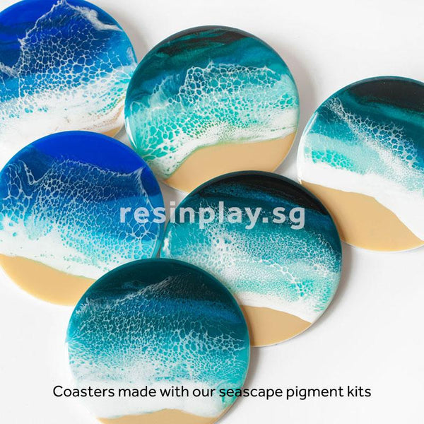 Blue Seascape Pigments Kit