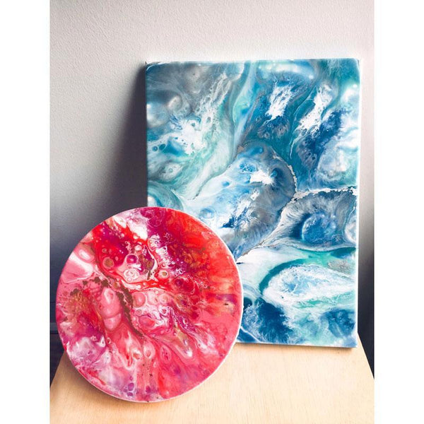 Resin Art Pouring Workshop (1 x 2hr Session)