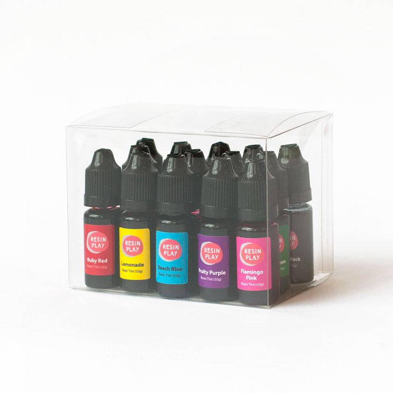 Transparent Tints for Resin - Box Set of 15 Colours