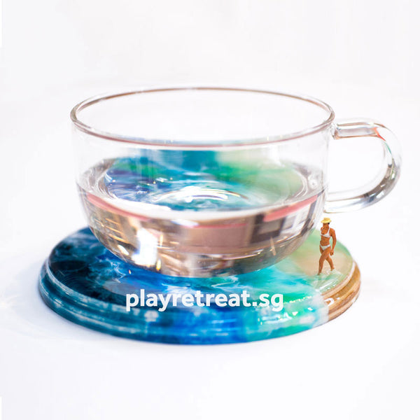 [Limited Edition] Seascape Beach Scene Coaster