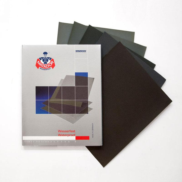 Matador Jewellery-grade Waterproof Wet Sandpaper