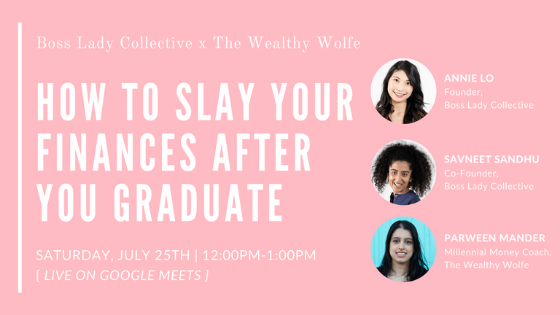 How to Slay Your Finances After You Graduate | Event Recap