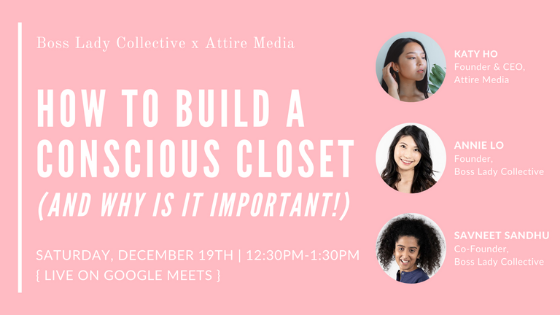 How to Build a Conscious Closet (and Why is it Important!) | Workshop Recap