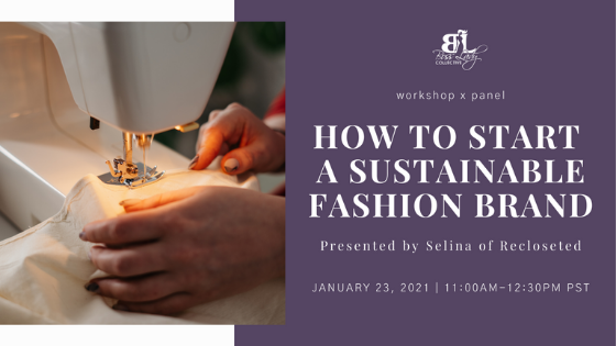 How to Start a Sustainable Fashion Brand | Workshop Recap