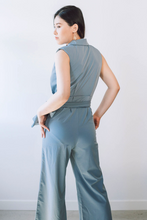 Load image into Gallery viewer, Donna Sleeveless Flare Jumpsuit