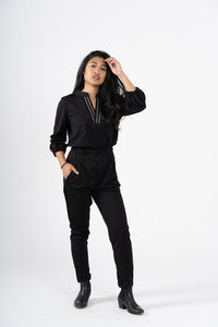 Zìxìn 2-Piece Blouse and Pants
