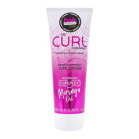 The Curl Company Enhance & Perfect Curl Cream 200ml, curly hair products, best curly hair products