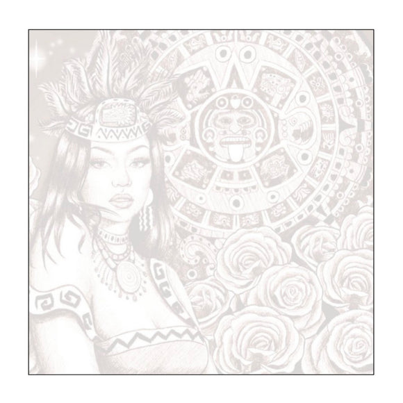 La Reina Azteca Sticky Notes
