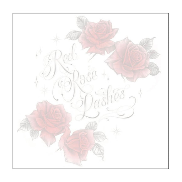 Red Rose Lashes Logo Sticky Notes