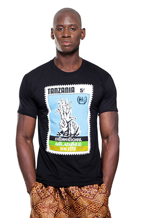 Tanzania Anti-Apartheid T-shirt (Black)