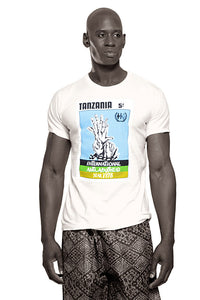 Tanzania Anti-Apartheid T-shirt (White)