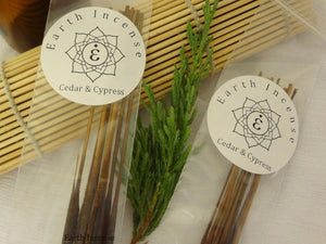 Earth Incense Natural Aromatic Botanical Essential Oils Resin Based 10 sticks