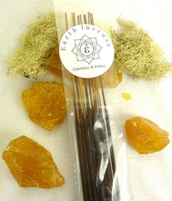 Load image into Gallery viewer, Earth Incense Natural Aromatic Botanical Essential Oils Resin Based 10 sticks