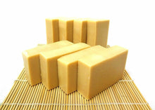 Load image into Gallery viewer, Goat Milk Soap with Organic Shea Butter fragrance free 1, 3, 8, 10, 40, 72 bars