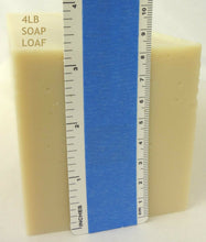 Load image into Gallery viewer, Goat Milk Soap Loaf 2lb, 4lb, 8lb, 12lb Fragrance Free Organic Shea Butter NEW