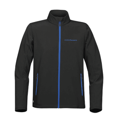 Stormtech™ Orbiter Softshell - Black/Azure Blue