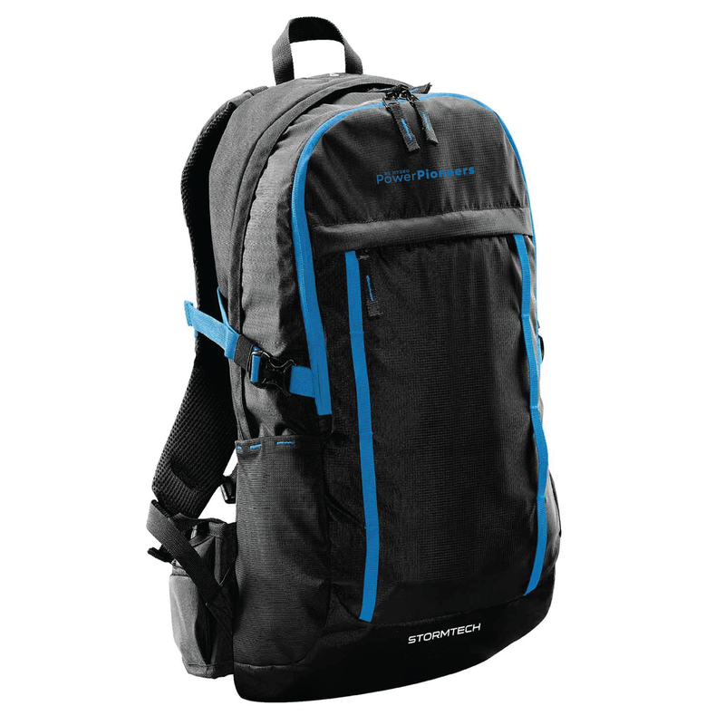 Stormtech™ Sequoia Day Pack - Black/Azure Blue
